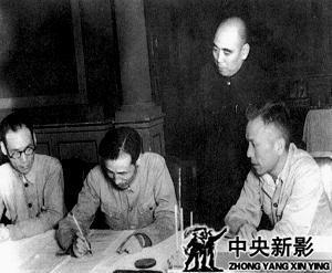 签订《绥远和平协议》