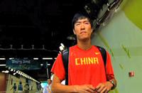 <center>中国110米栏运动员刘翔</center>