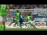 [德甲]第6轮:霍芬海姆3-1沃尔夫斯堡 比赛集锦