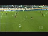 [德甲]第9轮:沃尔夫斯堡2-1纽伦堡 比赛集锦