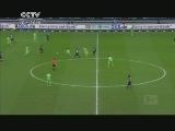 [德甲]第28轮:柏林赫塔1-4沃尔夫斯堡 比赛集锦