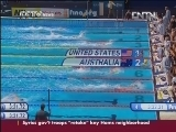 VIDEO: WOMEN'S 4x100M FREESTYLE RELAY TO USA