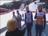 [残冬奥会]高山滑雪女子超级大回转-视觉障碍组