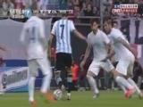 [世界杯]迪马利亚挑传 阿圭罗摆渡梅西轻松破门