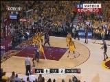 2014-15赛季NBA季后赛 老鹰VS骑士 第三场 20150525