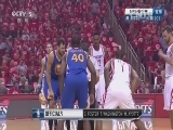 2015-16赛季NBA季后赛 勇士VS火箭 第三场 20160422