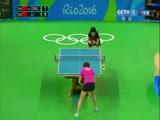 [奥运会]乒乓球女单决赛 丁宁VS李晓霞