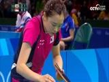 [奥运会]乒乓球女团1/4决赛 韩国队VS新加坡队 1