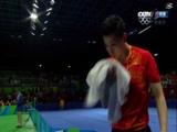 [夺金时刻]中国队奥运乒乓球男子团体成功卫冕