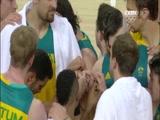 [奥运会]男篮半决赛 澳大利亚队VS塞尔维亚队