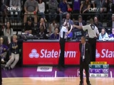 [NBA最前线]现场直击联盟最全能中锋考辛斯训练