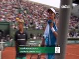 [法网]女单第四轮:穆古鲁萨VS梅拉德诺维奇 2