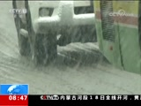 [朝闻天下]新疆 乌鲁木齐迎来入春后首场强降雪