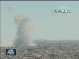 [视频]央视记者探访叙政府军作战前线
