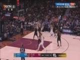 [NBA]杜兰特弧顶分球 库里运到内线急停跳投
