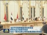 [视频]习近平同阿联酋副总统兼总理 阿布扎比王储举行会谈 双方一致决定建立中阿全面战略伙伴关系