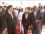 [新闻30分]习近平抵达达喀尔开始对塞内加尔共和国进行国事访问