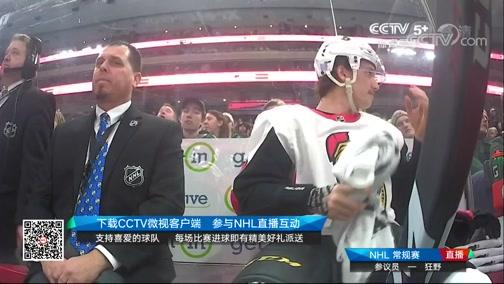 [NHL]常规赛:渥太华参议员VS明尼苏达狂野 第二节