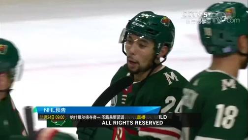 [NHL]常规赛:渥太华参议员VS明尼苏达狂野 第三节