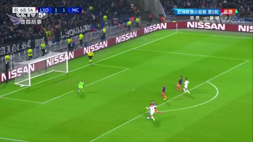 [歐冠]F組第5輪:里昂VS曼城 下半場