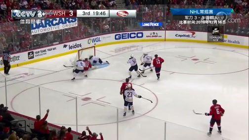 [NHL]常规赛:布法罗军刀VS华盛顿首都人 第3节
