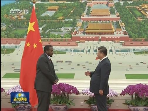 [视频]习近平接受七国新任驻华大使递交国书