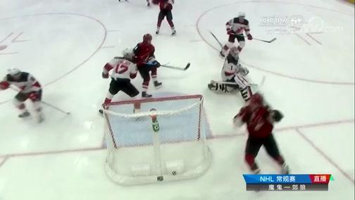 [NHL]常规赛:新泽西魔鬼3-2亚利桑那郊狼 比赛集锦