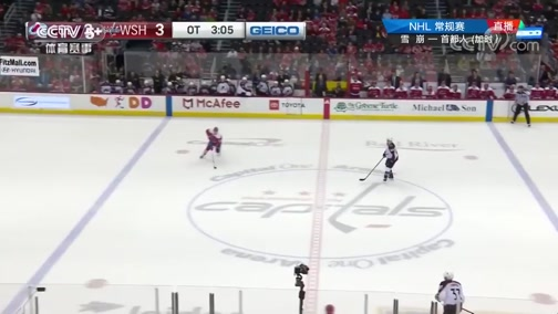 [NHL]常规赛:科罗拉多雪崩VS华盛顿首都人 加时赛