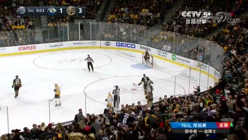 [NHL]常规赛:纳什维尔掠夺者VS维加斯金骑士 第三节