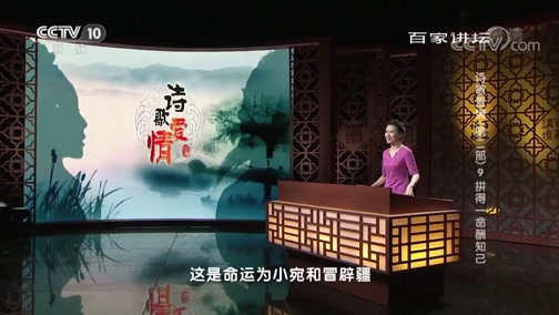 诗歌爱情(第二部) 9 拼得一命酬知己 百家讲坛 2019.03.29 - 中央电视台 00:38:05