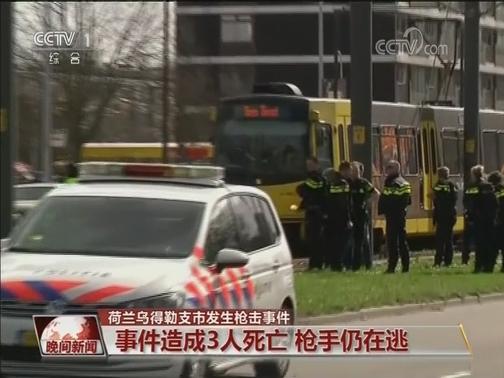 [视频]荷兰乌得勒支市发生枪击事件
