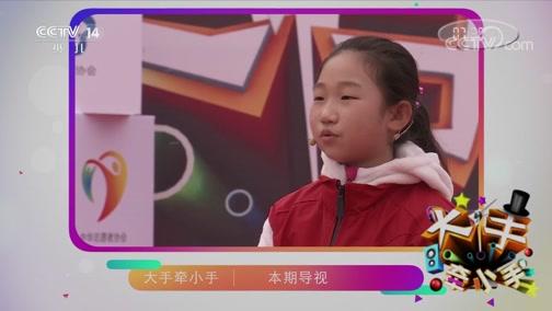 《大手牵小手》 20190323 新时代热心公益好少年 系列访谈(三)