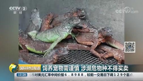 [国际财经报道]豢养宠物需谨慎 涉濒危物种不得生意