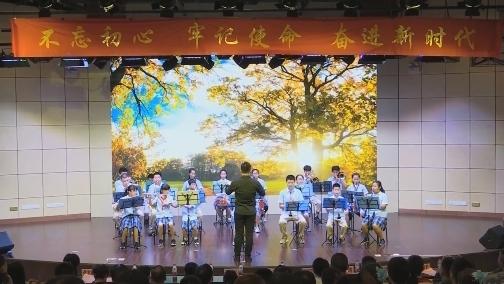 厦门聋生管乐团:用音乐打开心灵工作室 00:00:30