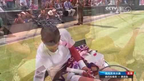 [温网]男单决赛:德约科维奇VS费德勒 3