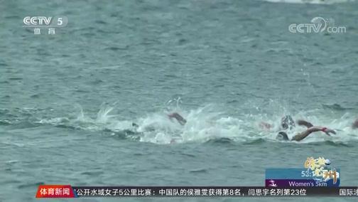 [游泳]巴西选手夺得公开水域女子5公里冠军(新闻)