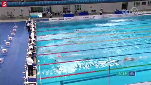 [游泳]二青会游泳体校组多项决赛