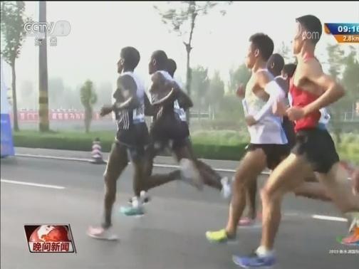 [视频]2019衡水湖国际马拉松赛鸣枪开赛