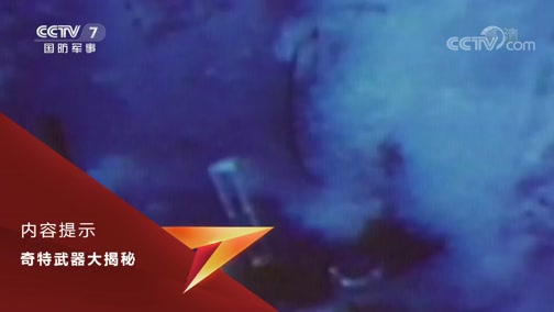 《兵器面面观》 20191005 奇特武器大揭秘 水上飞机打击力量(下)