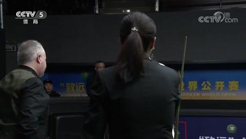 [台球]世界公开赛 塔猜亚与特鲁姆普晋级决赛