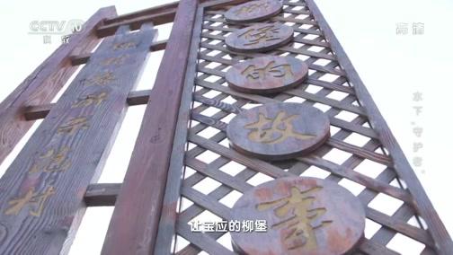 """《地理·中国》 20200115 水下""""守护者"""""""