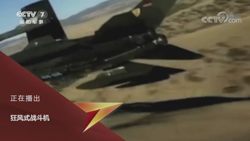 《兵器面面观》 20200224 狂风式战斗机