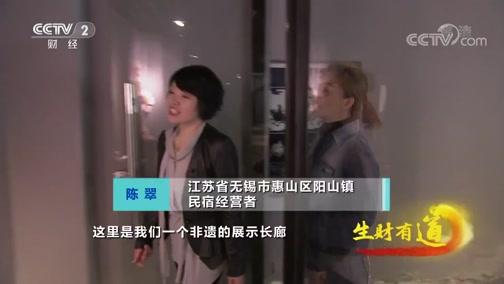 《生财有道》 20200403 江苏无锡阳山镇:又是一春桃花开