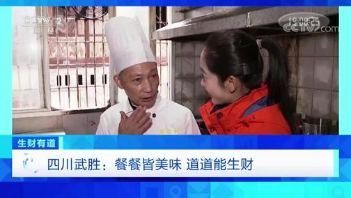 《生财有道》 20200406 四川武胜:餐餐皆美味 道道能生财