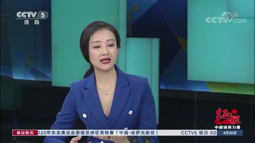 [体坛快讯]完整版 20200430