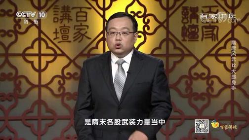 《百家讲坛》 20200513 隋唐风云 12 大显身手