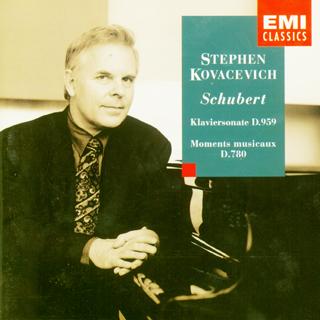 舒伯特 钢琴奏鸣曲 D 959,音乐的瞬间 D 780 科瓦切维奇