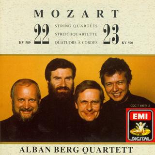 莫扎特 弦乐四重奏 第二十二号K.589 第二十三号K.590