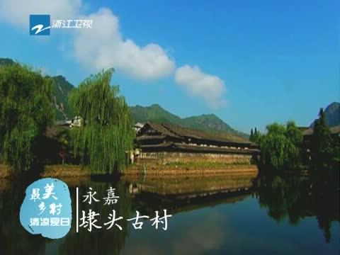 [浙江新闻联播]特别策划 到最美乡村 寻找清凉夏日 20130728