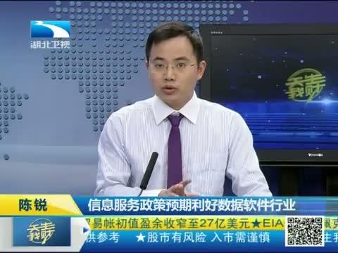 [吾股丰登]陈锐 信息服务政策预期利好数据软件行业 20130801